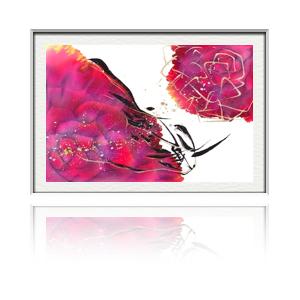 夢ロゴアートのバラ